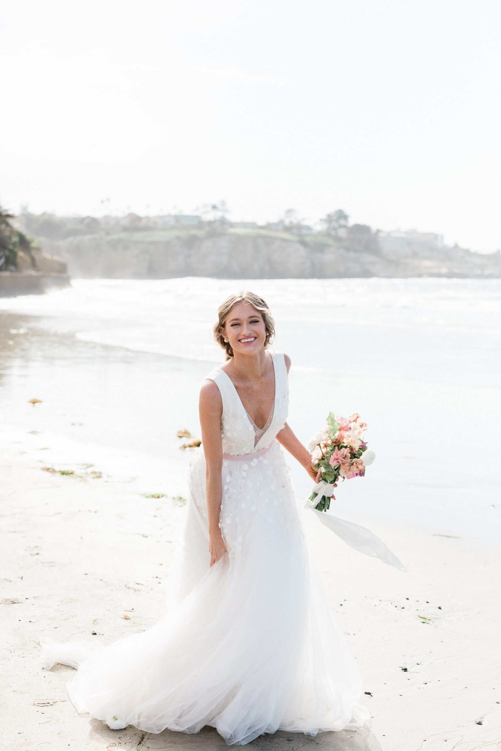 california bridal portrait