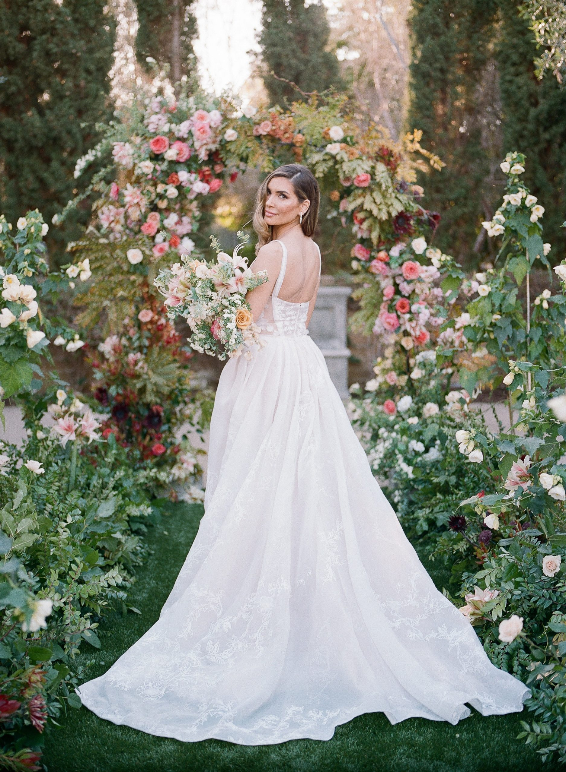 San Diego Film Bridal portrait