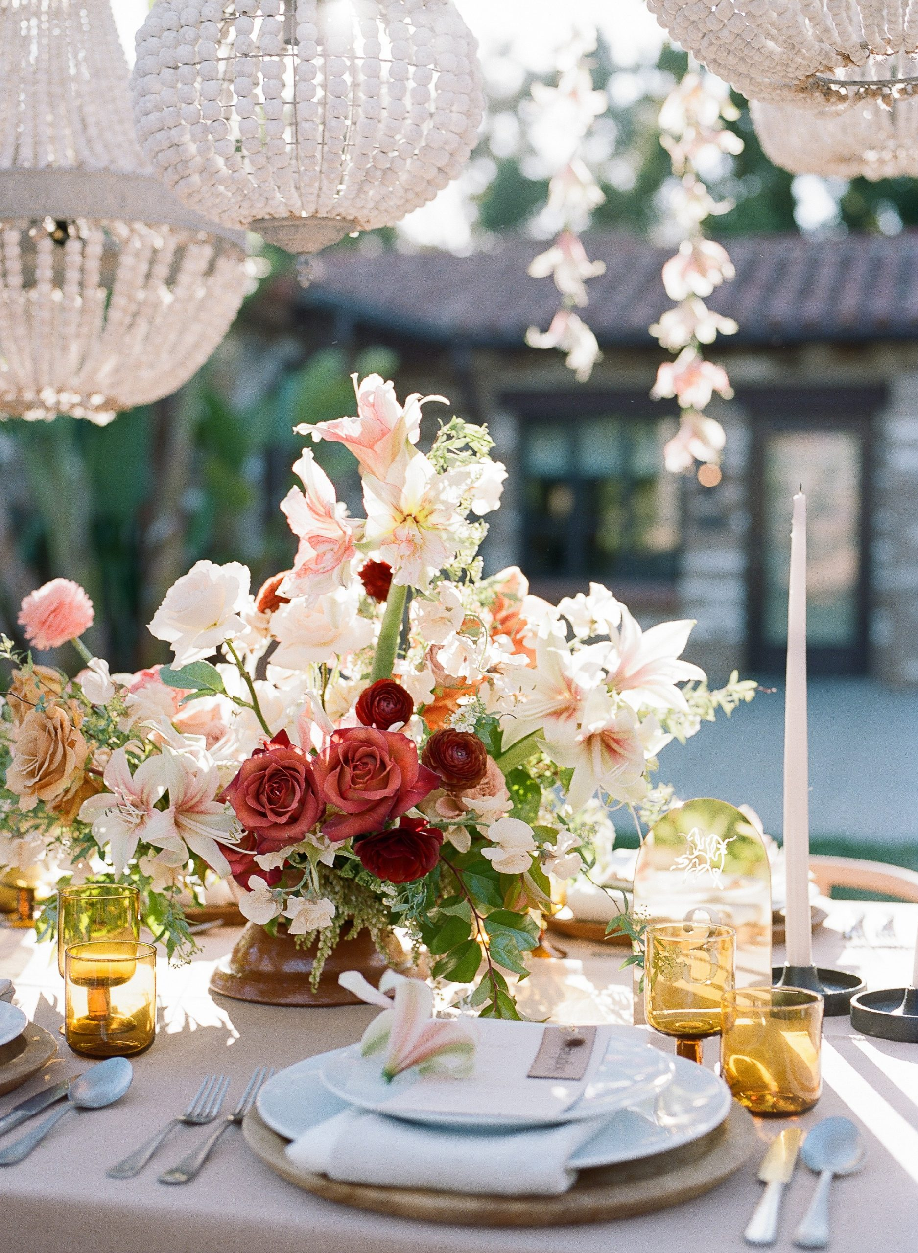 san diego wedding table design
