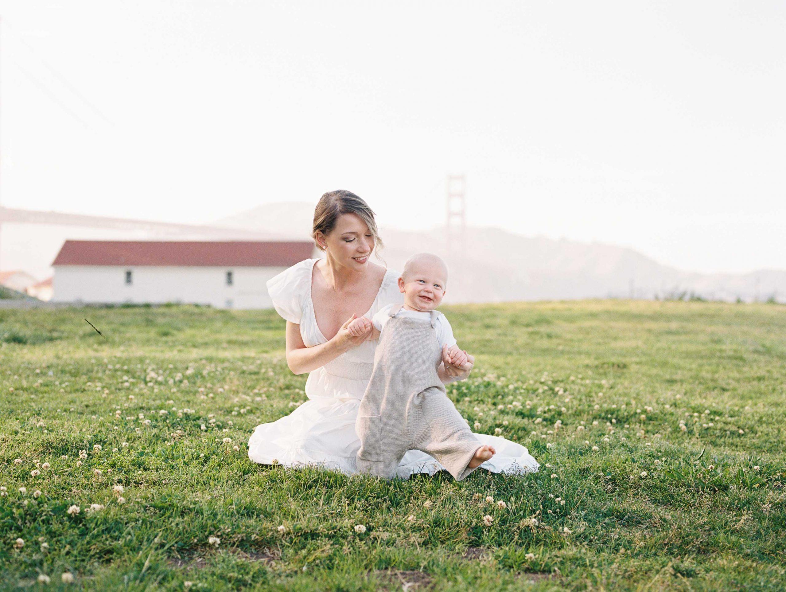 crissy field motherhood photos